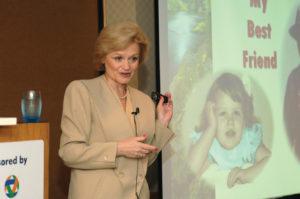 Phyllis Shelton talks about her best friend